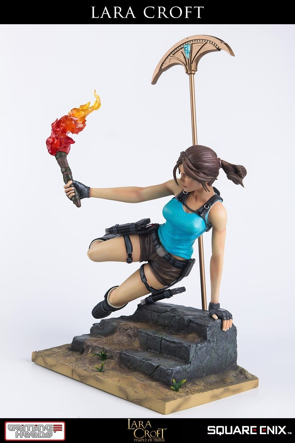 Tomb Raider Hunts for Treasure with New Statues from Gaming Heads