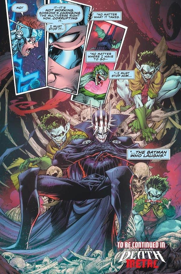 DC Comics' Missing FCBD Story Appears in Flash Forward TPB.