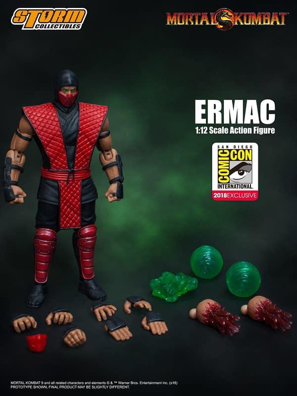 Storm Collectibles Mortal Kombat Ermac Exclusive 6