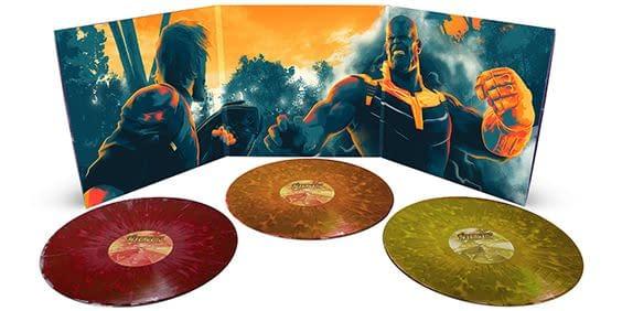 Mondo Avengers Infinity War gatefold vinyl.