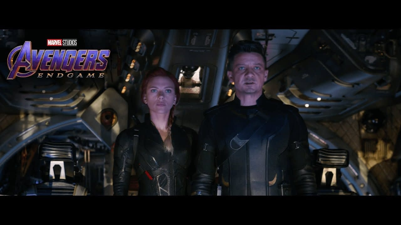 New Avengers: Endgame TV Spot Teases More Hawkeye and Black Widow Footage