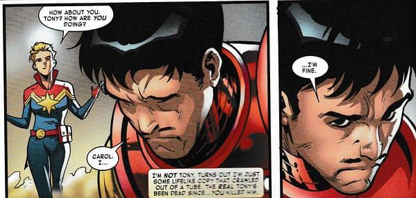 Tony Stark Is Not Iron Man