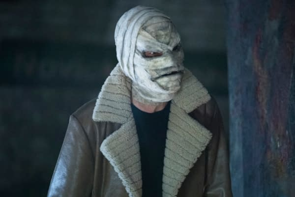 Gabriel Mann as Hush in Batwoman, courtesy of The CW.