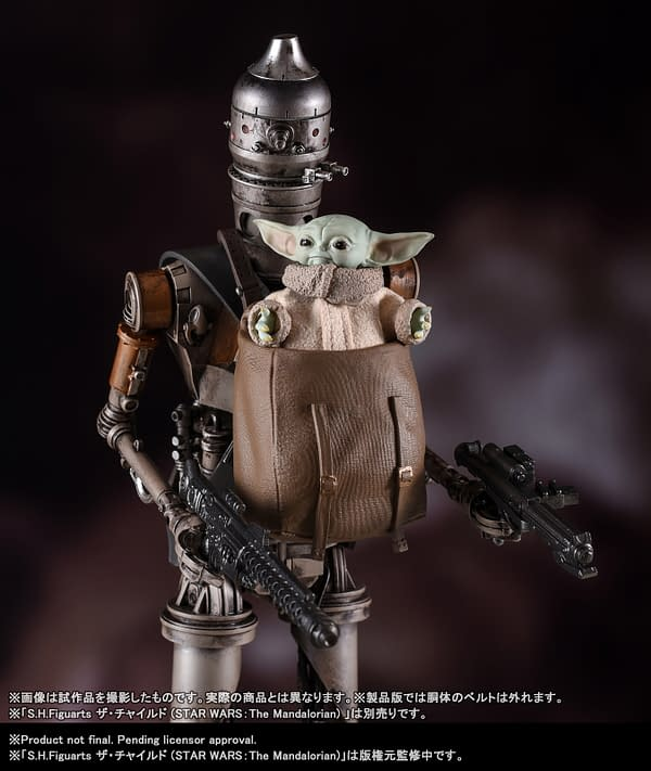 The Mandalorian IG-11 Gets a New Figure From S.H. Figuarts