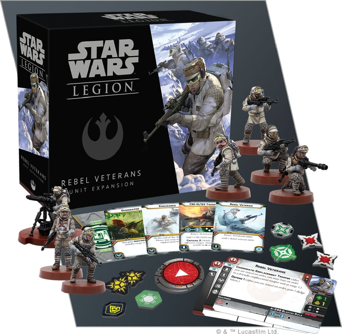 """Star Wars: Legion"": Preview of Rebel Veterans from FFG"