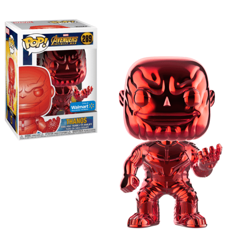 Funko Chrome Thanos Red