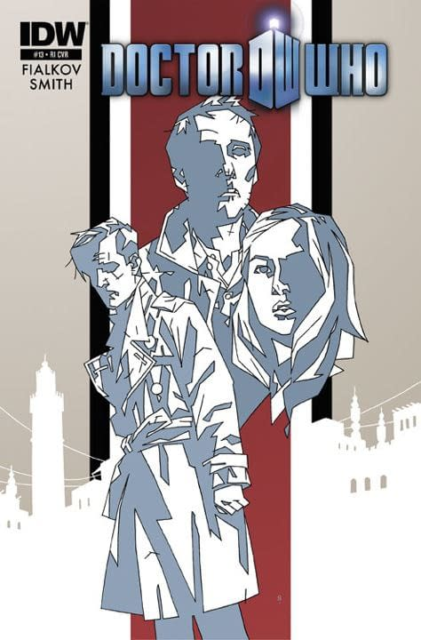 IDW Replaces British Doctor Who Writer With An American