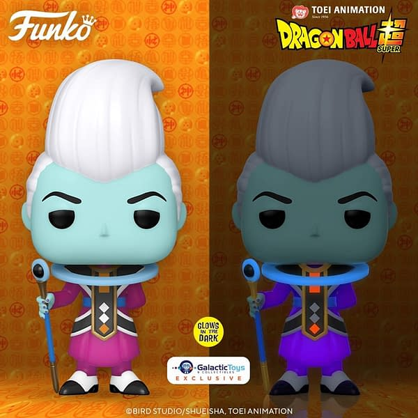 Funko Pop! Animation - DBZ - Whis (Glow in the Dark)