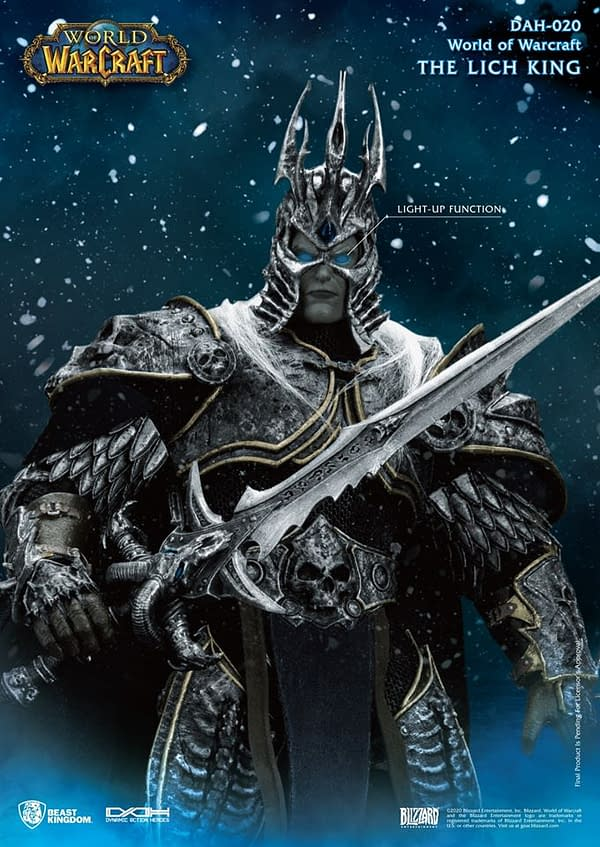 World of Warcraft Lich King Dynamic 8ction Heroes Figures from Beast Kingdom
