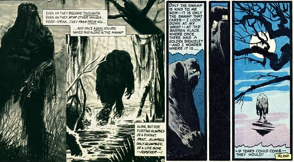 Similar scenes from Savage Tales #1 and House of Secrets #92.