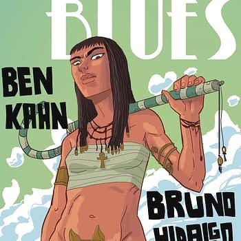Heavenly Blues #4 cover by Bruno Hidalgo