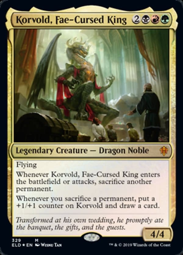 """Korvold, Fae-Cursed King"" Deck Tech - ""Magic: The Gathering"""