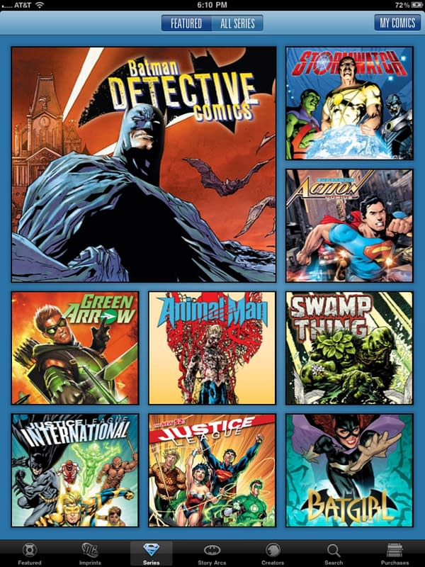 DC Comics Digital Releases