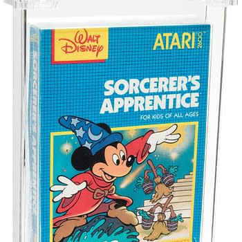 A Nice Atari Disney Sorcerer's Apprentice Game Is At Heritage Auctions