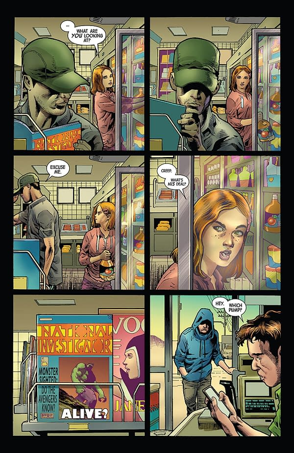 The Immortal Hulk #1 art by Joe Bennett, Ruy Jose, and Paul Mounts