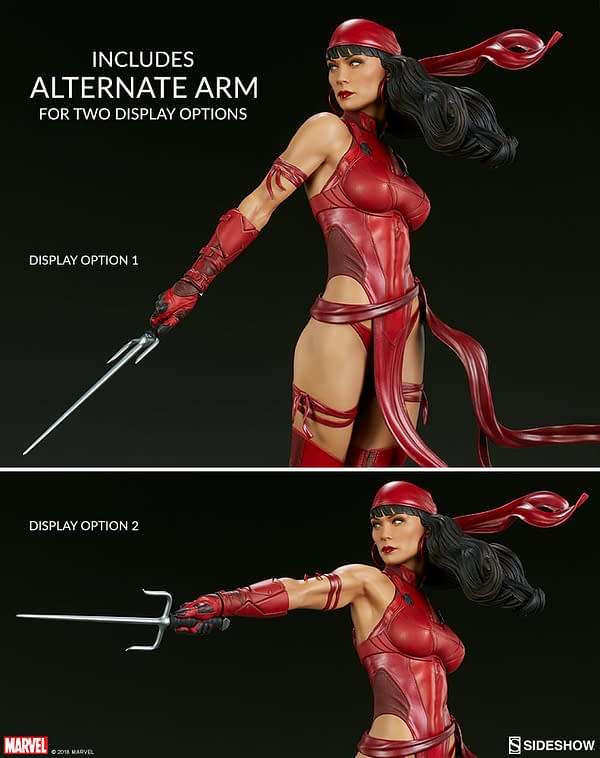 Sideshow Collectible Premium Format Figure Elektra 4