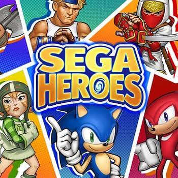 SEGA Heros Main Art