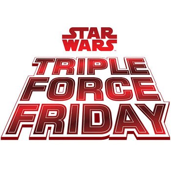 Star Wars Hasbro Triple Force Friday Logo