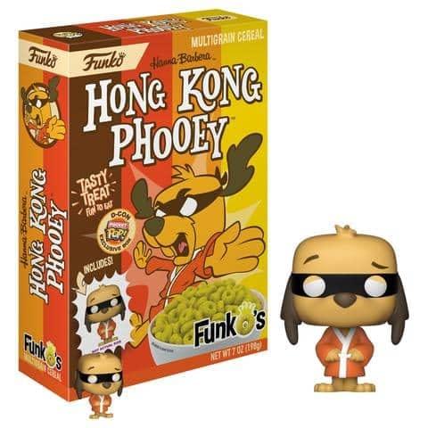 Funko Cereal Hong Kong Phooey DesignerCon