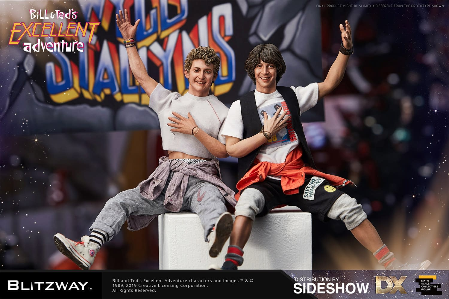 Return to the past with New Bill and Ted Figures