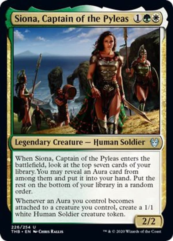 """Titans Escape! """"Theros: Beyond Death"""" Spoilers - """"Magic: The Gathering"""""""