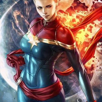captain marvel artgerm