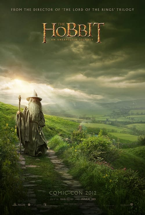 Comic-Con Poster For The Hobbit Is Pastoral But Overcast