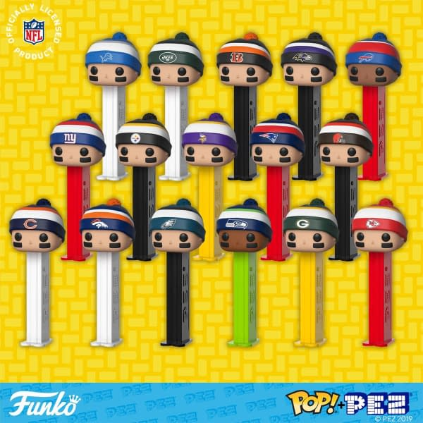 Funko Pop Pez NFL 1