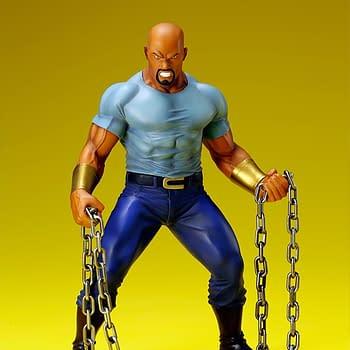 Luke Cage is the Latest Defender to get a Kotobukiya Statue