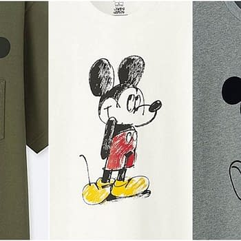 mickey mouse mickey art line uniqlo