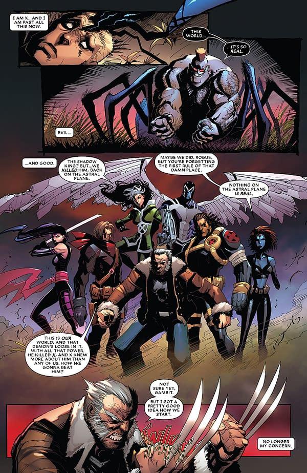 Astonishing X-Men #12 art by Gerardo Sandoval and Erick Arciniega