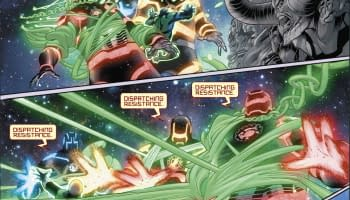Interior art from Hal Jordan and the Green Lantern Corps #29 by Rafa Sandoval, Jordi Tarragona, and Tomeu Morey