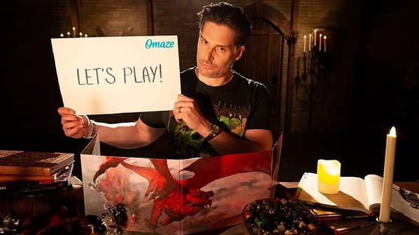 Vous pouvez jouer à D&D avec Joe Manganiello si vous faites un don à Make-A-Wish, gracieuseté de Wizards of the Coast.