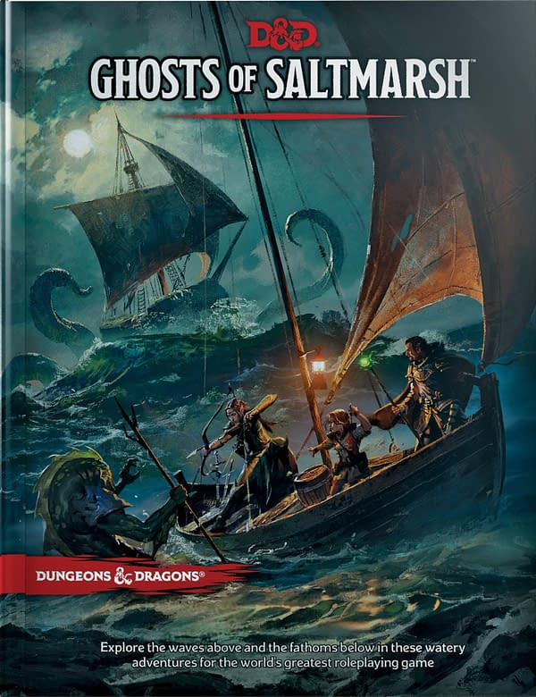 Review - Dungeons & Dragons: Ghosts of Saltmarsh