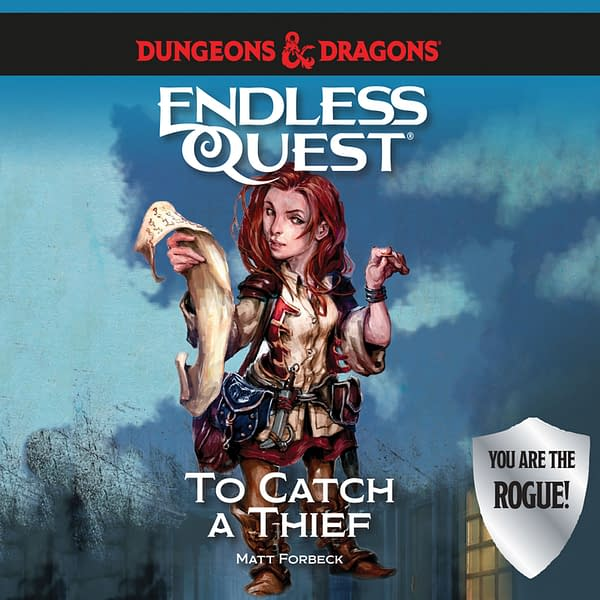 To Catch A Thief is a part of the Endless Quest series, courtesy of Dreamscape Media.