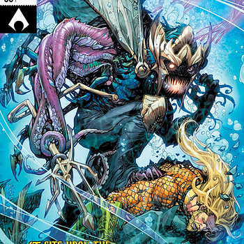 Aquaman #36 cover by Howard Porter and Hi-Fi