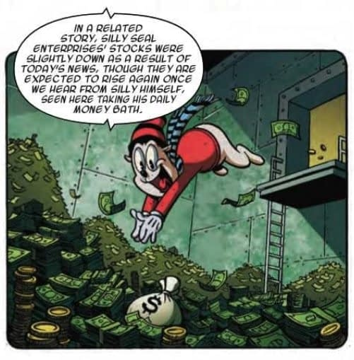 Gimmick Infringement Abounds in Next Week's Ziggy Pig Silly Seal Comics #1