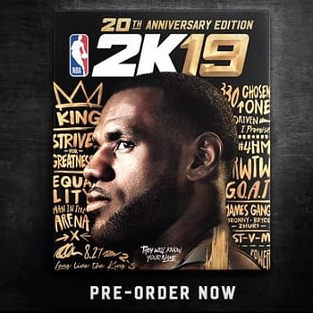 LeBron James Will Be the Cover Athlete for NBA 2K19
