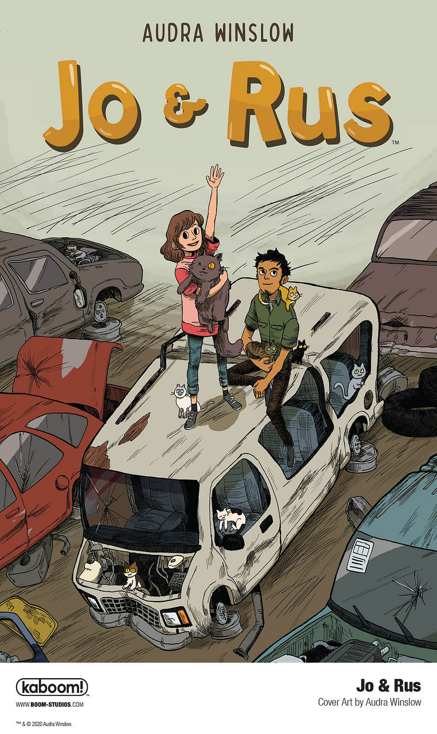 BOOM! Harnesses Power of Friendship with Middle Grade Graphic Novel Jo & Rus