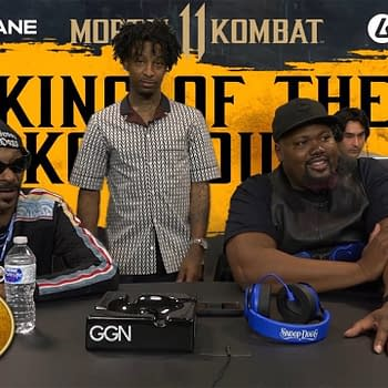 Watch Snoop Dogg Play Against 21 Savage in Mortal Kombat 11
