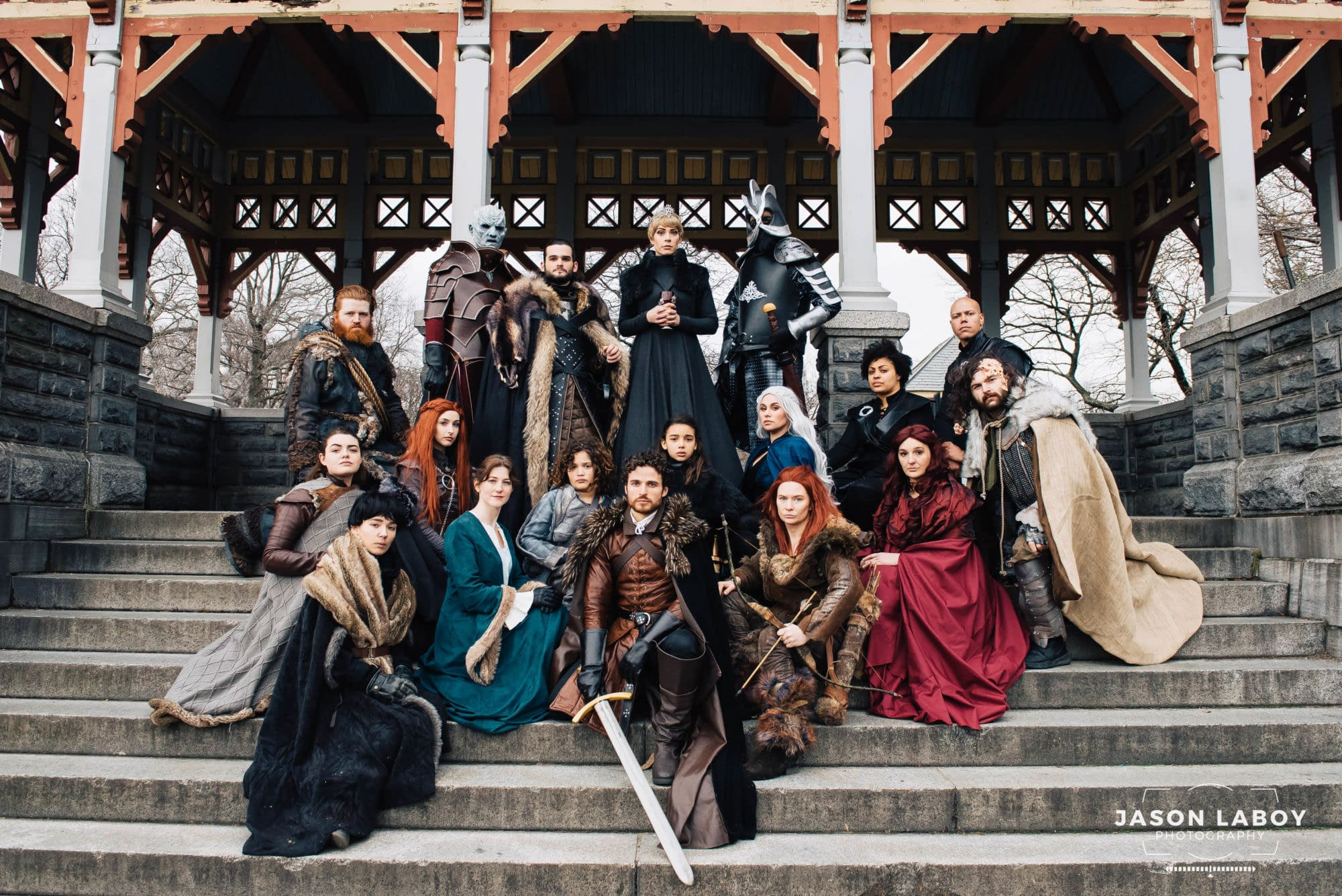 Game Of Thrones cosplay shoot