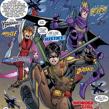 Tim Drake is Officially Going By 'Drake' in Young Justice #8