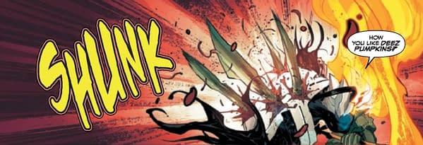Eddie Brock Becomes a Fashion Critic in Venom #15