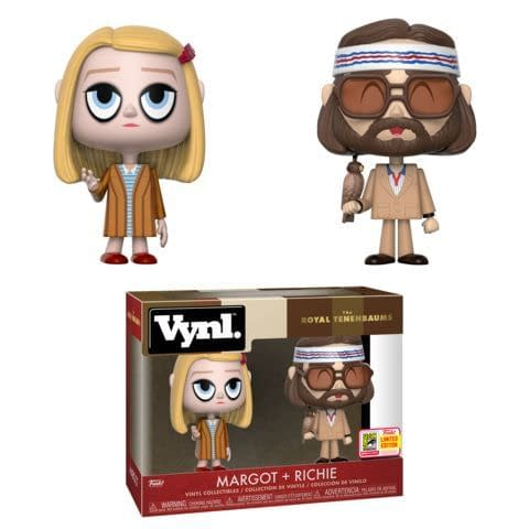 Funko SDCC Exclusive Royal Tenenbaums Vynl Two Pack