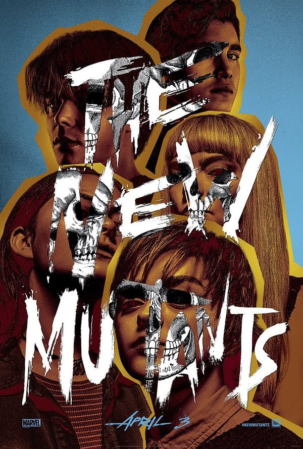 'The New Mutants': New Poster Debuts as the Film Draws Near