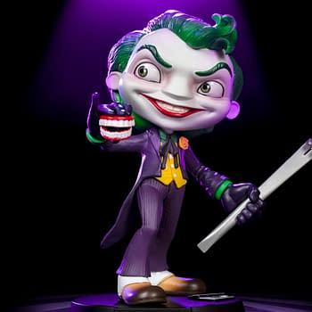 Joker Gets Wacky in New Mini Co Statue from Iron Studios