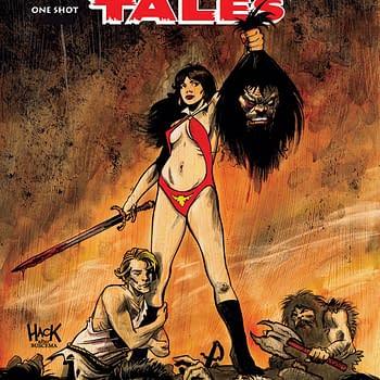 Savage Tales: Vampirella One-Shot Cover by Robert Hack