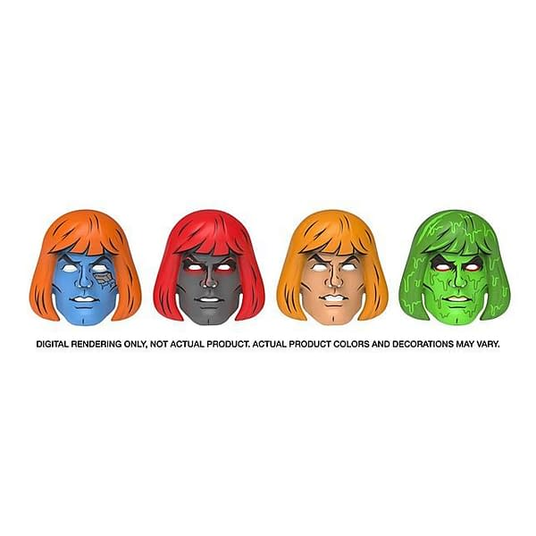 Mattel SDCC Exclusive Masters of the Universe Masks