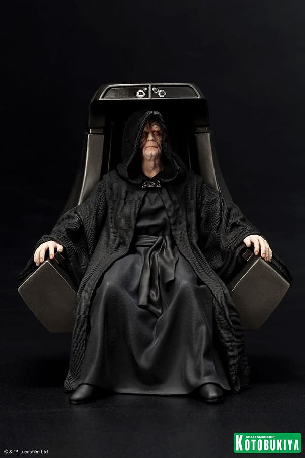 The Emperor Gets The Coolest Statue Ever From Kotobukiya