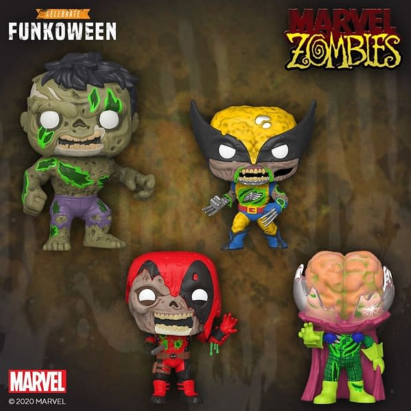 Marvel Zombies Funko Pops Reveal for Funkoween